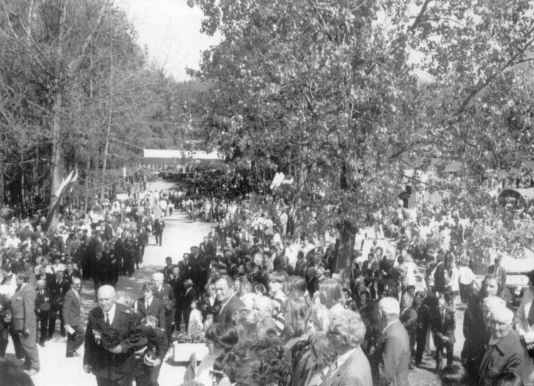 Tysiące ludzi przybyło na Kopiec Kościuszki w Połańcu, by uczcić dwusetną rocznicę ogłoszenia Uniwersału Połanieckiego.